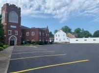 교회주차장 보수공사